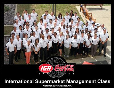 International Supermarket Management Class 2014