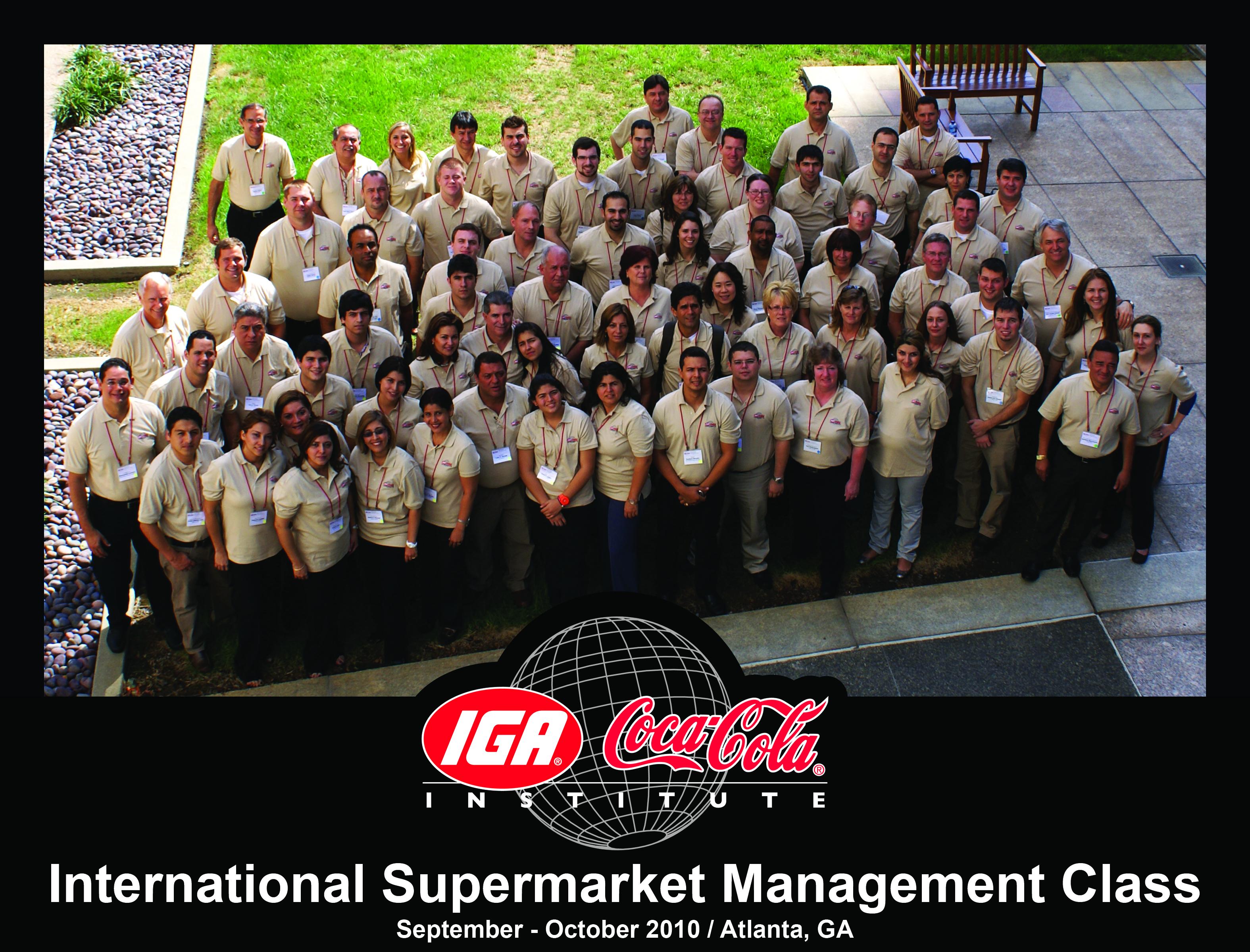 International Supermarket Management Class 2010