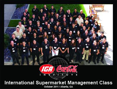 International Supermarket Management Class 2011 in Atlanta, GA.