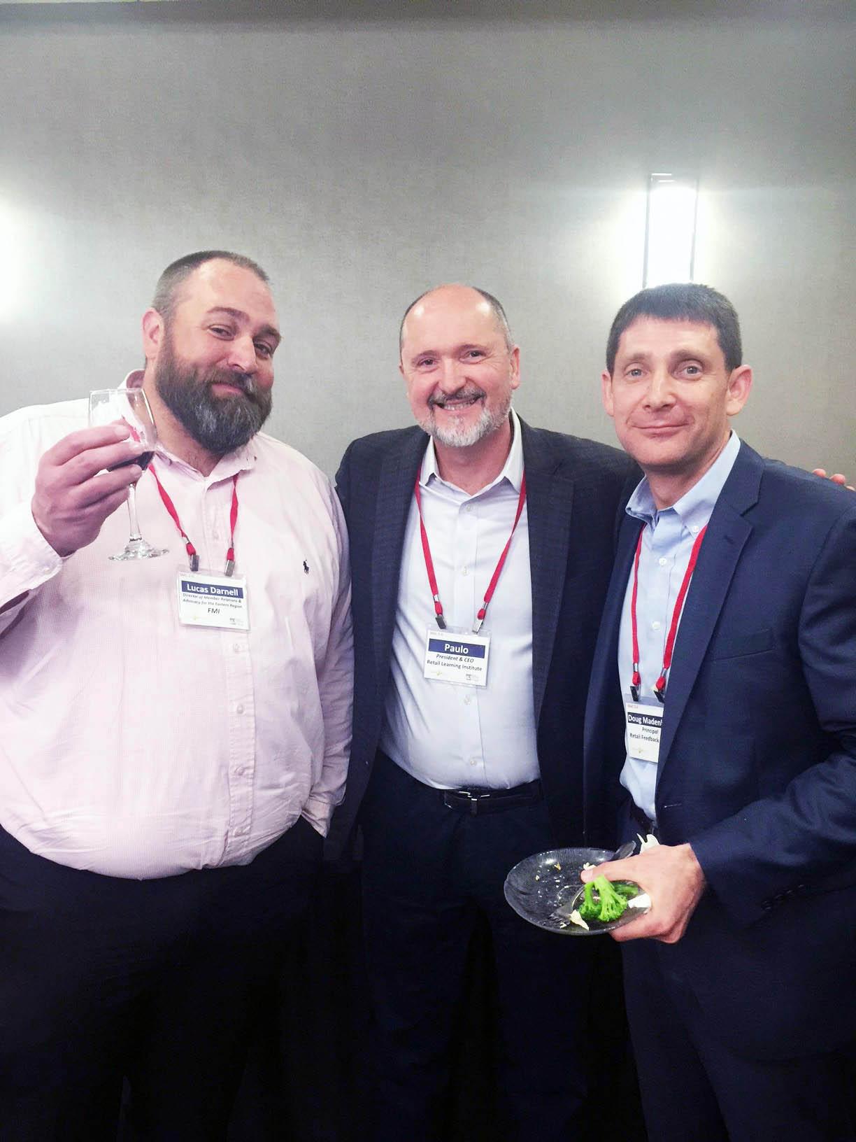 Oradores de classe Lucas Darnell, Paulo Goelzer e Doug Madenberg