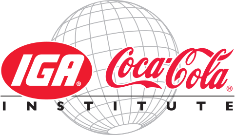 IGA Coca-Cola Institute Logo