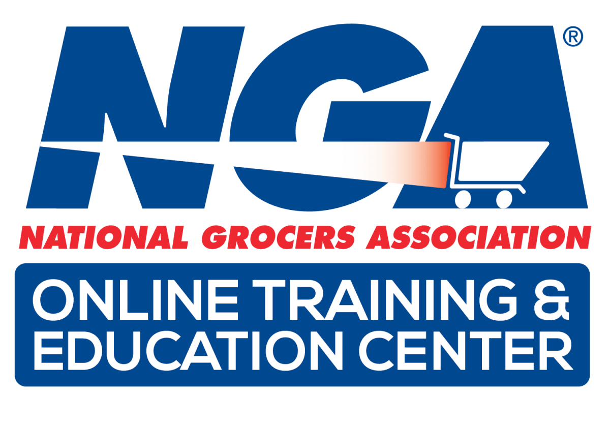 Partnership with National Grocers Association (NGA) logo
